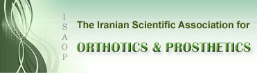The Iranian Scientific Association for Orthotics & Prosthetics